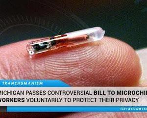 Βρε καλώς τους! Το Μίσιγκαν ψηφίζει τσιπάρισμα σε ανθρώπους.