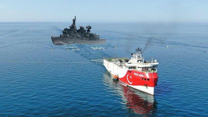 ΤΩΡΑ -EKTAKTO Τελευταίες εξελίξεις με το Oruç Reis το οποίο εισήλθε στις 12:45πμ 28/7/20 και κρύφτηκε μέσα στο λιμάνι της Αττάλειας.ΤΕΣΤ ΚΟΠΩΣΕΩΣ με το Oruç Reis
