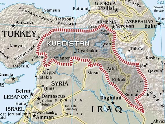 «Η Τουρκία ματαίωσε το ισραηλινό όνειρο για δημιουργία Κουρδικού Κράτους»