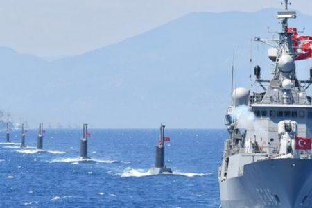 Βγήκαν 17 τουρκικά πολεμικά πλοία από το Ακσάζ: Η Άγκυρα ανακοίνωσε έρευνες μεταξύ Μεγίστης-Κρήτης – Συναγερμός στο ΠΝ!