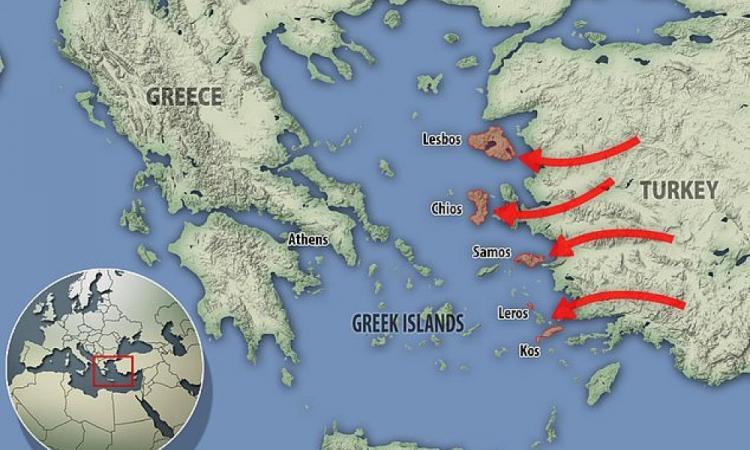 « Όλα θα ξεκινήσουν από ένα μαύρο σύννεφο καπνού πολεμικής οχλοβοής νότια της Κρήτης που θα μεταφερθεί αστραπιαία στο Βόρειο ΑΙΓΑΙΟ»