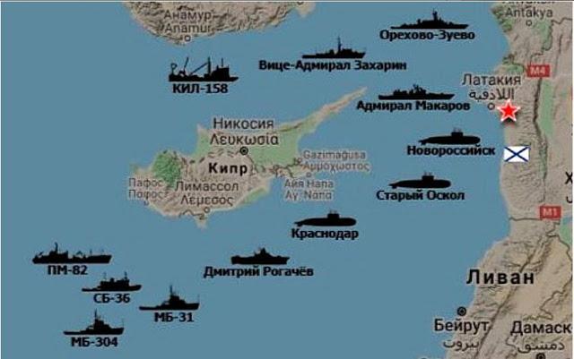 Ανησυχία Τουρκίας για ενέργειες της Ρωσίας σε Κύπρο και Συρία.
