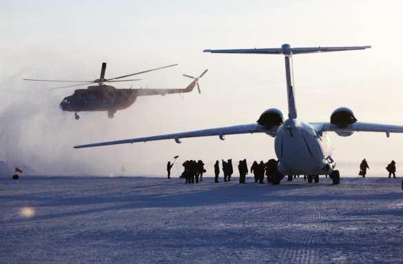 Ματ στον αγώνα για την Αρκτική: ο στρατός της Ρωσίας και η μυστική τεχνολογία θα αφήσουν τους ανταγωνιστές πολύ πίσω.