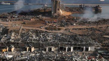 Δορυφορικός χάρτης της NASA φανερώνει το μέγεθος της καταστροφής στη Βηρυτό (φώτο)