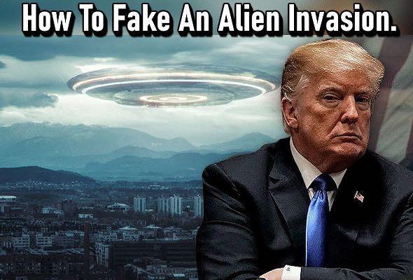 Πώς να πλαστογραφήσεις μια εξωγήινη εισβολή | Έργο Blue Beam. Τα Ηνωμένα Έθνη θα είναι αυτά που θα ανακοινώσουν την απειλή της πλαστής αλλοδαπός εισβολής και θα ζητήσουν από όλες τις χώρες να ενωθούν.
