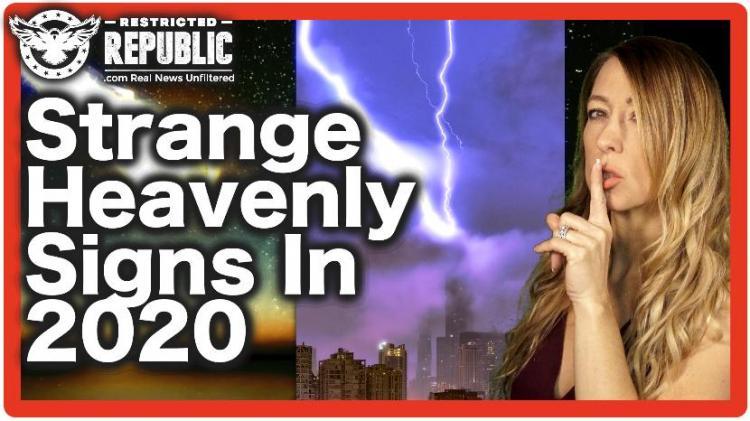ΤΩΡΑ; ΠΟΛΛΑ ΠΑΡΑΞΕΝΑ «ΟΥΡΑΝΙΑ ΣΗΜΑΔΙΑ» ΠΟΥ ΕΜΦΑΝΙΖΟΝΤΑΙ ΤΟ 2020 & ΕΙΝΑΙ ΜΙΑ ΣΥΝΤΑΓΗ ΓΙΑ ΤΗΝ ΑΠΟΚΑΛΥΨΗ!