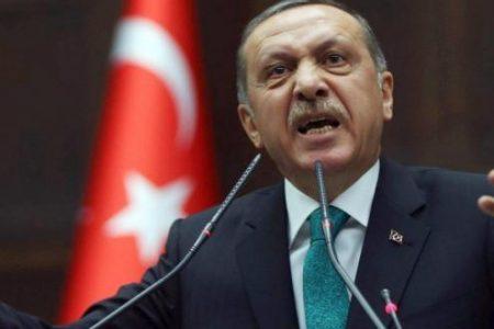 Ρ.Τ.Ερντογάν: «Επιβάλαμε στους πλιατσικολόγους Έλληνες τον νόμο – Ο Μακρόν θέλει ψυχίατρο»