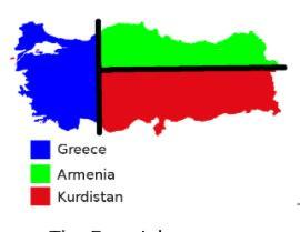 Top secret/ η επερχόμενη τριχοτόμηση ή 4μερής κατάτμηση της Τουρκίας:1 κράτος Κούρδων, 1 Αρμενίων, 1 Μικρή Τουρκία και ίσως και 1 Αλεβιτών συν δικαίωμα επιστροφής Ελλήνων στην Μ.Ασία.(εφαρμογή Συνθήκης Σεβρών και χάρτες σύμφωνα με αρχή Προέδρου Wilson μετά τον 1ο Παγκόσμιο με βάση αυτοδιάθεση……