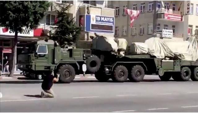 Η Τουρκία έθεσε σε λειτουργία το S-400 στη Μαύρη Θάλασσα.