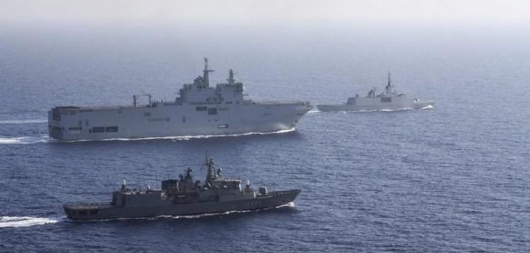 """Γνωρίζουν κάτι οι Γάλλοι; Στολίσκος γαλλικών πλοίων με επιθετικές διαθέσεις στην Α. Μεσόγειο – """"Βλέπουν"""" σενάριο Καραμπάχ"""