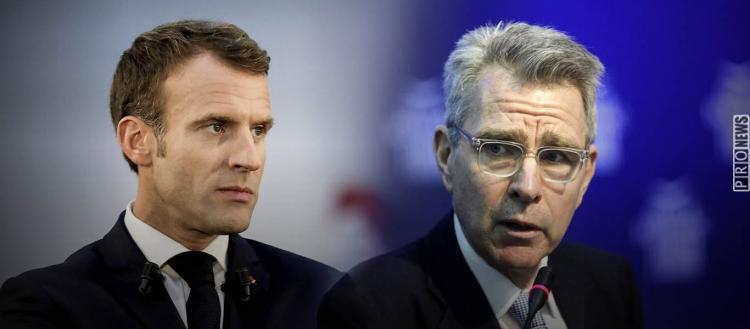 Γαλλο-αμερικανική σύγκρουση: Αποδοκιμασία του Αμερικανού πρέσβη Τ.Πάιατ σε Ε.Μακρόν και επίθεση σε… pronews.gr!
