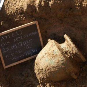 Aποκάλυψη σε ανασκαφή στην Ηλεία – Βρέθηκαν οκτώ τάφοι της αρχαίας Ήλιδος.