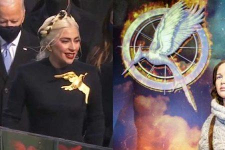 Θεωρίες συνωμοσίας για τo πουλί της Lady Gaga στην ορκωμοσία Μπάιντεν (ΦΩΤΟ).
