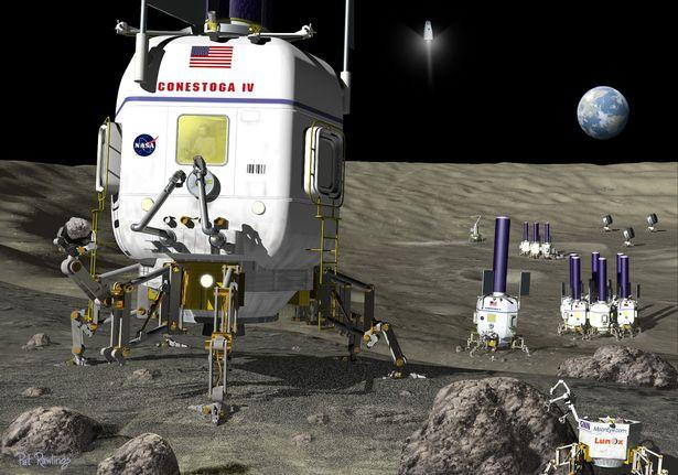Η Σελήνη θα γίνει η «νέα άγρια Δύση» καθώς η Κίνα, η Ρωσία και οι ΗΠΑ αγωνίζονται για τα δικαιώματα εξόρυξης.