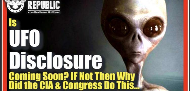 ΛΙΖΑ ΧΕΙΒΕΝ : ΕΡΧΕΤΑΙ ΣΥΝΤΟΜΑ Η ΑΠΟΚΑΛΥΨΗ UFO; ΕΑΝ ΟΧΙ, ΤΟΤΕ ΓΙΑΤΙ ΤΟ ΕΚΑΝΕ Η CIA ΚΑΙ ΤΟ ΚΟΓΚΡΕΣΟ…