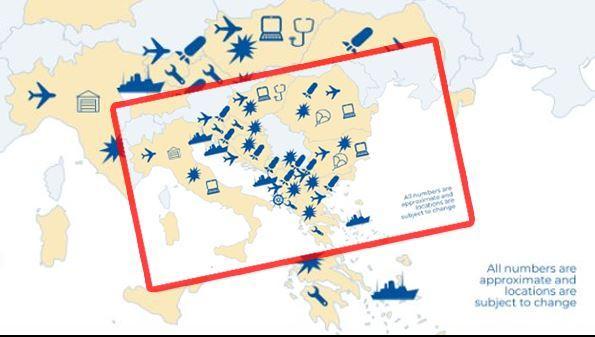 «Μεγάλο σκάνδαλο από τις ΗΠΑ! Η Τουρκία εξαφανίστηκε από το χάρτη!», τούρκικο δημοσίευμα.