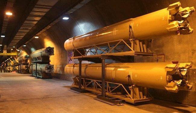 Ιράν: Οι Φρουροί της Επανάστασης αποκαλύπτουν την υπόγεια «πόλη των πυραύλων» [vid].