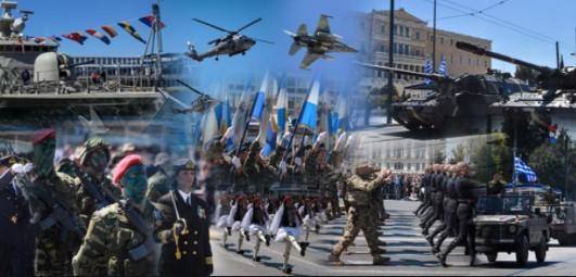 25η Μαρτίου: Θα διεξαχθεί μόνο η στρατιωτική παρέλαση στο Σύνταγμα.