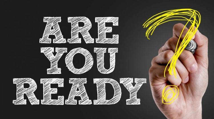 Ξέρετε τι συμβαίνει; Να είσαι έτοιμος!