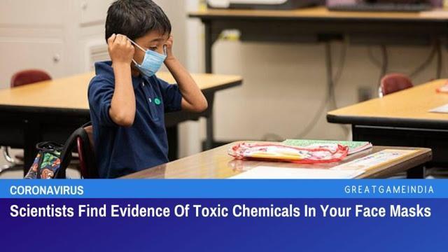 Οι επιστήμονες βρίσκουν αποδείξεις καρκινογόνων και άλλων τοξικών χημικών ουσιών στις μάσκες προσώπου και ας μην στο λένε τα κανάλια…
