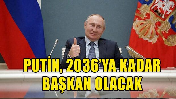 ΒΛΑΔΙΜΗΡ ΠΟΥΤΙΝ : «ΘΑ ΜΕ ΥΠΟΜΕΙΝΕΤΕ ΜΕΧΡΙ ΤΟ…2036»!!!