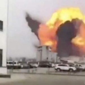 Ισχυρή έκρηξη σε εργοστάσιο χημικών στην Κίνα – Έρευνες για θύματα