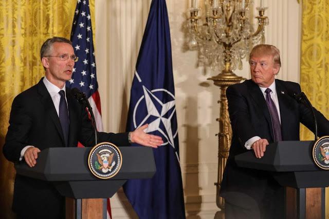 Συνάντηση Τραμπ – Στόλτενμπεργκ Εν Όψει Της Συνόδου Των ΥΠΕΞ Του ΝΑΤΟ
