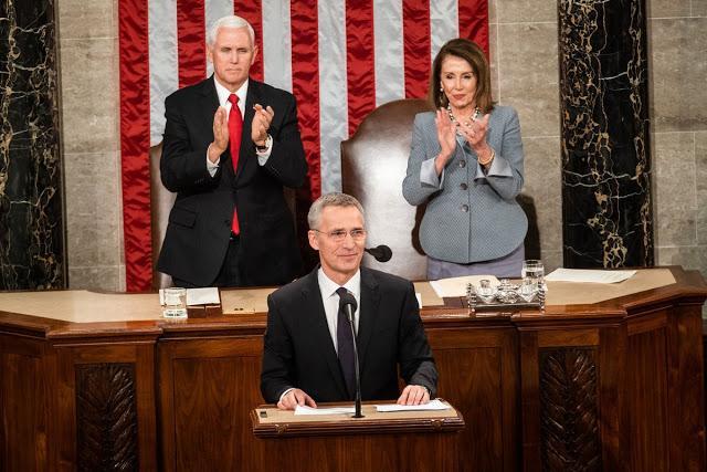 Ιστορική Ομιλία Στόλτενμπεργκ Στο Αμερικανικό Κογκρέσο-Αναφέρθηκε Εκτενώς Στην «Απειλή» Από Την Ρωσία
