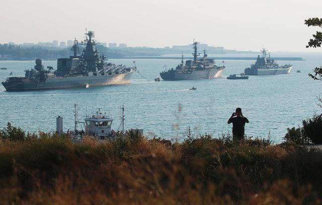 Ο Ρωσικός Στόλος Απέναντι Στα Πλοία Του ΝΑΤΟ Στη Μαύρη Θάλασσα
