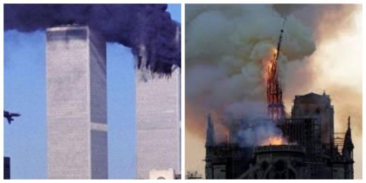 Οι αριθμοί που δείχνουν ότι οι καταστροφές των Δίδυμων Πύργων και της Παναγίας των Παρισίων δεν ήταν τυχαίες!