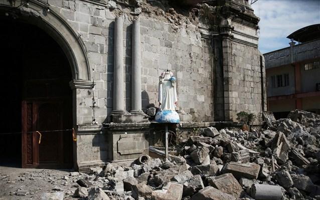 Νέος ισχυρός σεισμός σήμερα τις Φιλιππίνες 6,5 ριχτερ