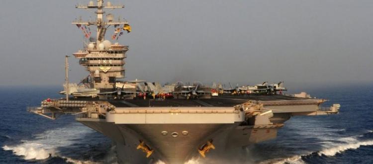 Ιρανικό UAV Ababil-3 παρακολουθεί το USS Dwight D. Eisenhower