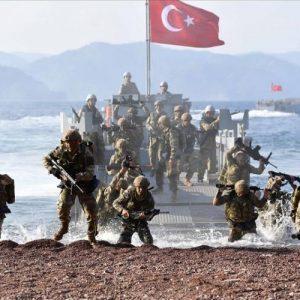 « τα νερά στο ΑΙΓΑΙΟ και στην Κύπρο έχουν ζεσταθεί» είπε ο τούρκος.  « να ζεστάνεις και τα κόλλυβα σου  » η απάντηση του ΑΓΙΟΥ ΠΑΙΣΙΟΥ