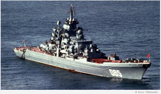 Το Aμερικανικό MEDIA αποκάλεσε το καταδρομικό «Ναύαρχο Ναχίμοφ» το πιο ισχυρό πλοίο στον κόσμο.