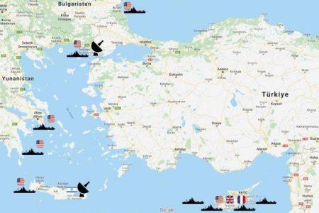 «Ουρλιάζουν» οι Τούρκοι: «Επιθετικές κινήσεις από Ελλάδα, ΗΠΑ & Ισραήλ» – «Μας περικυκλώνουν!»