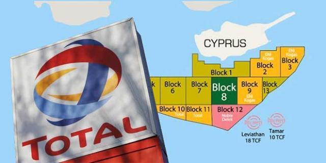 Η Γαλλική Total Και Η Ιταλική ENI Επεκτείνουν Την Παρουσία Τους Στην Κυπριακή ΑΟΖ