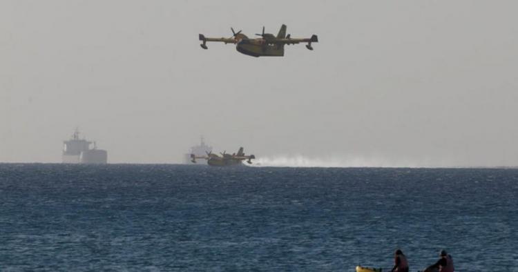 Ελληνικά αεροσκάφη στο Ισραήλ για τις πυρκαγιές