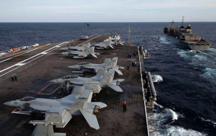Βρέθηκε το αεροπλανοφόρο USS Abraham Lincoln (CVN-72) καθ' οδόν προς…;