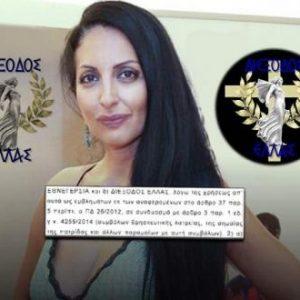 Ο Άρειος Πάγος «έκοψε» κόμμα από τις ευρωεκλογές επειδή εμφανιζόταν ο Σταυρός στο σήμα του!
