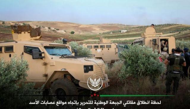 Ο Στρατός Της Συρίας Κατέστρεψε 2 Τεθωρακισμένα Οχήματα PantheraF9 Της Τουρκίας Στη Συρία (Pic/Photo)