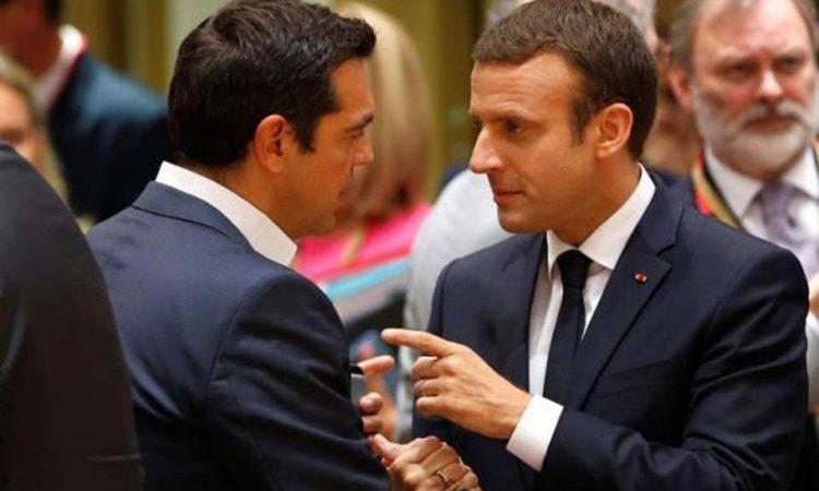 Ε.Μακρόν: «Άμα θες Αλέξη στέλνω φρεγάτες στην Κύπρο» – Το εννοεί ο Γάλλος πρόεδρος;