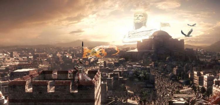 Στις 23 Ιουνίου στην Κωνσταντινούπολη Ταγίπ Ερντογάν , θα ανασηκωθεί ο ¨Μαρμαρωμένος Βασιλιάς ¨ και θα προσκυνήσεις