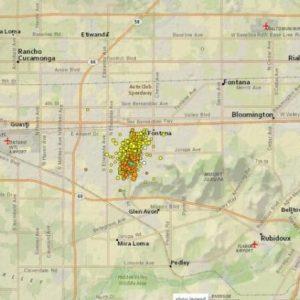 Ανησυχία από τους συνεχόμενους σεισμούς στη Νότια Καλιφόρνια.