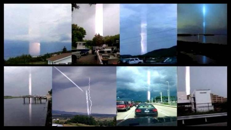 Παράξενες Δέσμες Φωτός από τον Ουρανό στη Γη, σε όλο τον Κόσμο! Μυστήρια πράγματα!!!