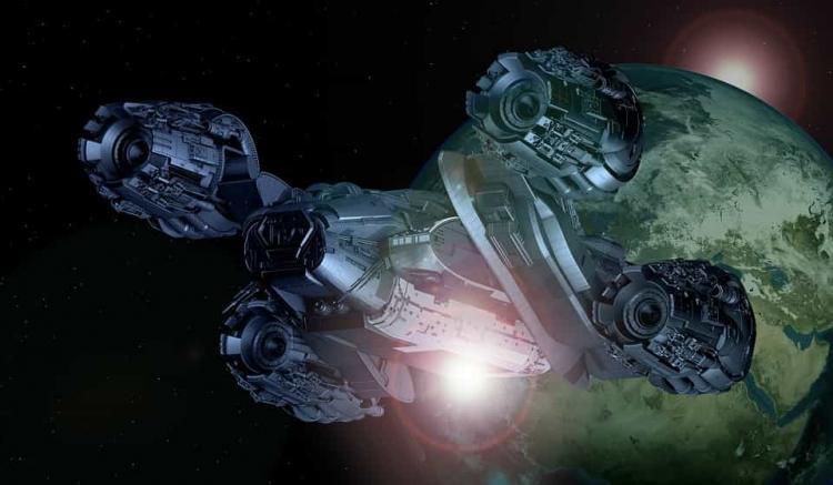 Τεράστιο UFO Διαφεύγει από μια Μαύρη Τρύπα στον Ήλιο
