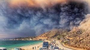 Η σωτήρια για τον πλανήτη επερχομένη συμφορά στην Καλιφόρνια