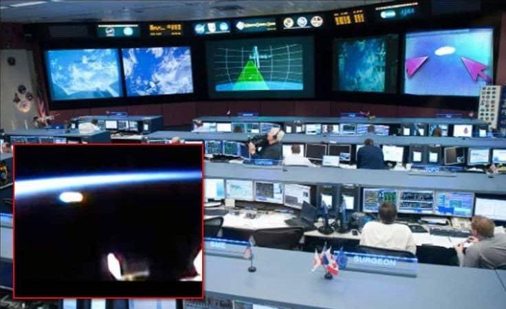 Διαρροή Βίντεο στο Διαδίκτυο Δείχνει Πως η NASA Παρατηρεί ένα Μεγάλο UFO
