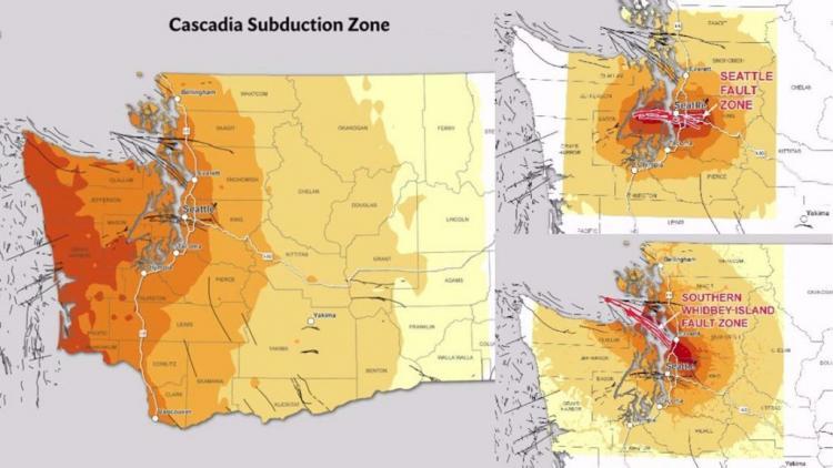 Σεισμός συγκλόνισε το Σιάτλ-3 μεγάλες σεισμικές απειλές για το Σιάτλ