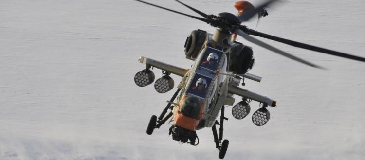 Η Αγκυρα έστειλε επιθετικά ελικόπτερα Τ-129 ΑΤΑΚ στα κατεχόμενα!