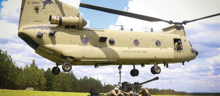 Οι ΗΠΑ παρέδωσαν τέσσερα ελικόπτερα CH-47F στην Τουρκία (βίντεο)